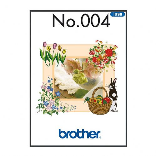 Brother Embroidery Sewing Machine Memory USB Stick BLECUSB4 Spring Collection A090.USB4